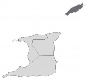 Tobago Area map