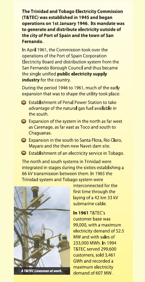 The Nation S Sole Transmission And Distribution Utility